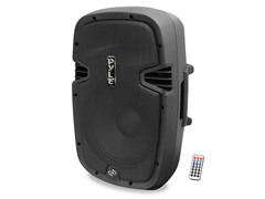 "15"" Portable Bluetooth Powered PA Speaker"