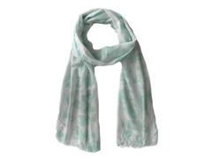 Kitara  Picture Scarf Mint