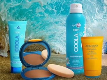 Shiseido and Coola Sun Protection