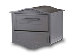 Geneva Locking Mailbox with Post and Cover, Bronze