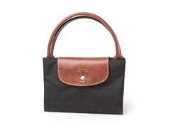 Longchamp Le Pliage Handbag, Black
