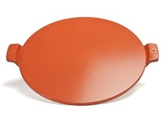 Red Glazed Pizza Stone 14.5""