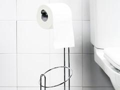 Vanderbilt Chrome Steel Toilet Paper Holder
