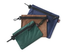 3 Multi-Purpose Clip-on Zippered Bags