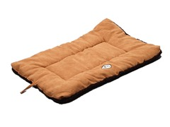 Pet Life Reversible Ped Bed - Brown