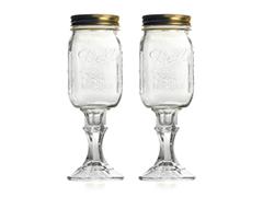 Jeff Foxworthy Redneck Wine Glass 2-pk