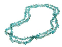"36"" Endless Apatite Chip Necklace"