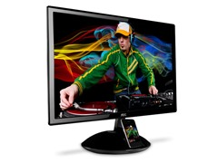 "23"" 1080p LED Monitor with Dock"