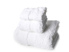 Terra Loop Cotton Towel 3Pc Set-White
