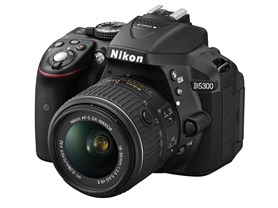 Nikon D5300 24.2MP DSLR w/18-55mm Lens