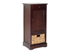 Raven Tall Storage Unit - Cherry