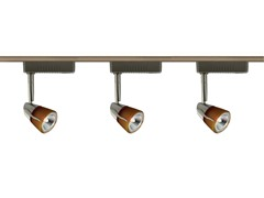 3-Light 4-Foot Low Voltage, Amber/Satin