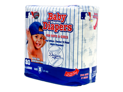 LA Dodgers Diapers (160-192ct)