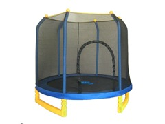 Upper Bounce 7' Trampoline w/ Enclosure