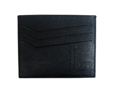 ST Dupont Leather Credit Card Holder,Blk