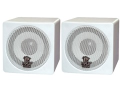 "Pyle 3"" 100W Mini Cube Bookshelf Speakers (Pair)"