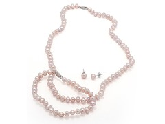 Pink Pearl 3 Piece Set