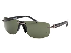Men's Rectangle Rimless Sunglasses