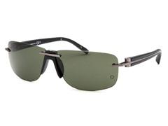 Men's Rectangle Rimless Sunglasses