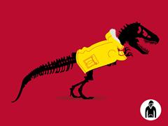 Jurassic Parka Pullover Hoodie