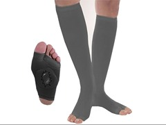 Drainer Compression Therapy Socks L-Black