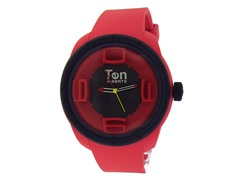 Ten Beats 3H Red / Black Watch