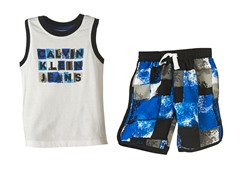 2-Pc Boardshort Set (2T-4T)