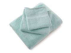 MicroCotton Aertex 3Pc Towel Set-SeaGlass