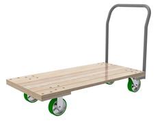 "Akro-Mils Wood Platform, 54"" x 27"""
