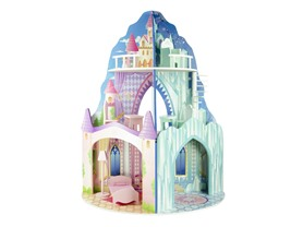 Teamson Dual Theme Doll House - Ice Mansion/ Castle