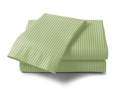 300 Thread Count Cotton Sateen Sheet Set  - Sage