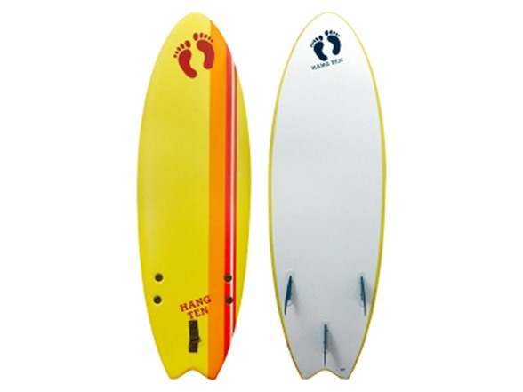 5 39 6 flying fish soft top surfboard for Best fish surfboard