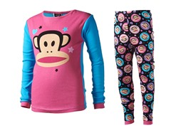 Paul Frank Pink-Blue 2-Pc PJ Set (4-10)