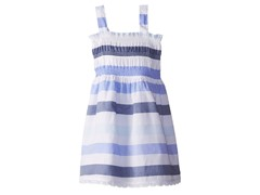 Blue Stripe Sundress (5-6)