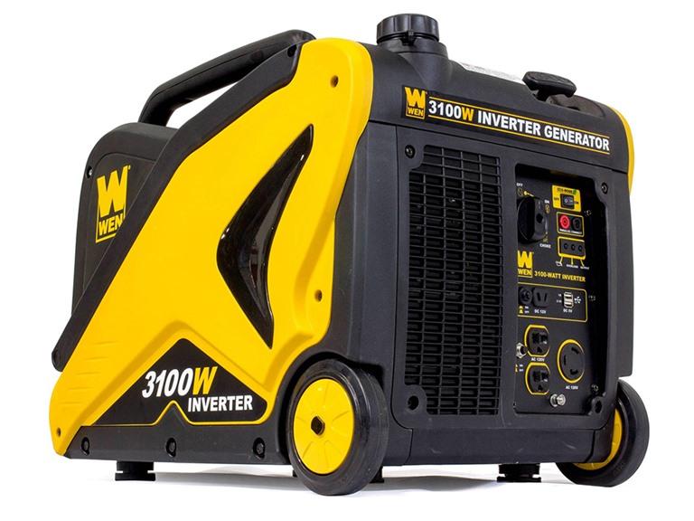 WEN 56310i Generator with Built-in Wheels