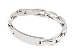 Stainless Steel Engravable Id Bracelet