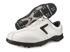 Men's C-Tech Saddle Golf Shoe, White