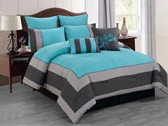 Barcelona Hotel 8 Piece Comforter Set- 2 Sizes