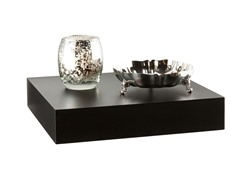 "Chicago 10"" Floating Shelf Black"