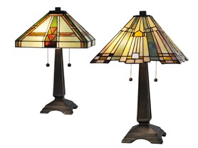 Dale Tiffany Table Lamp (2 Styles)