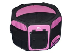 Octagon Pet Pen w/Removable Top - Pink