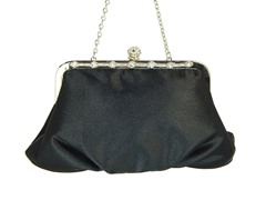 Satiny Clutch Bag