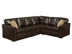 Abbyson Living Delano Leather Sectional