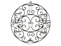 Circle Tealight Wall Decor