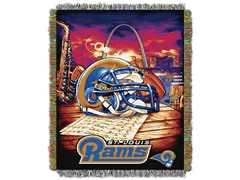 Rams Tapestry Throw