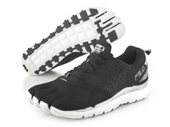 Fila Skele-Toes - Black/Silver, 7.5 or 8