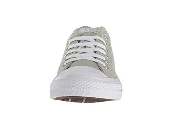 9b6a0fe4596b Converse Women s Chuck Taylor All Star Perforated Canvas Low Top Sneaker