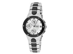 Women's Stainless Steel Chronograph