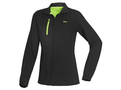 Fila Softshell Jacket - Black/Green
