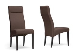Deborah Dining Chair Set of 2 - Brown